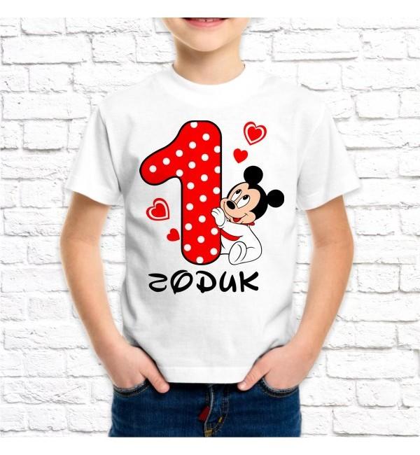 Детская футболка Мне  годик