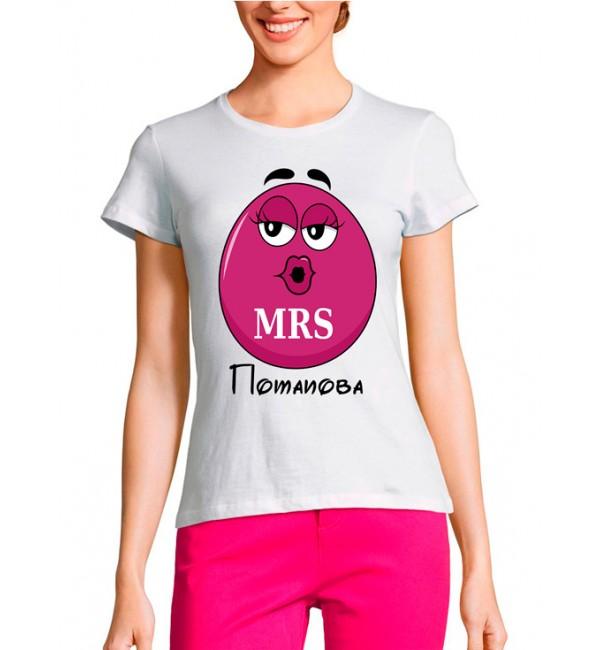 Женская футболка M&M's мама