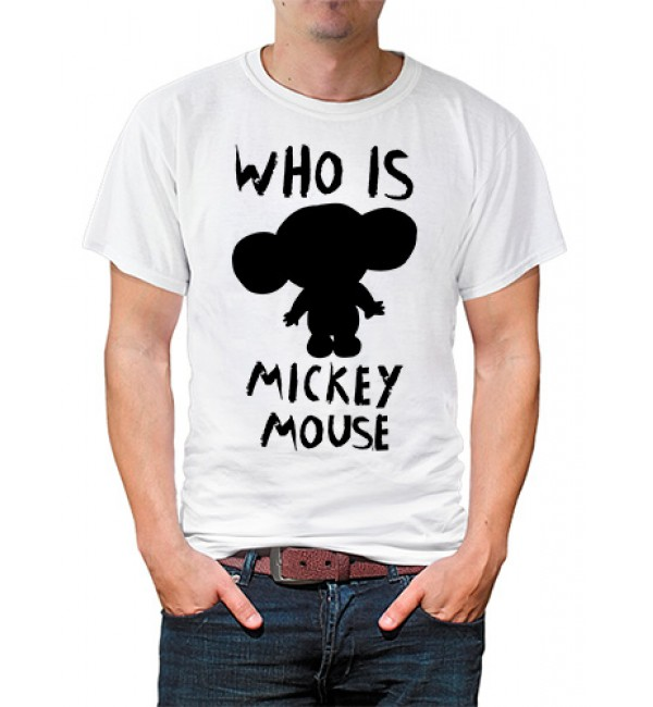Футболка в стиле тумблер Who is Mickey