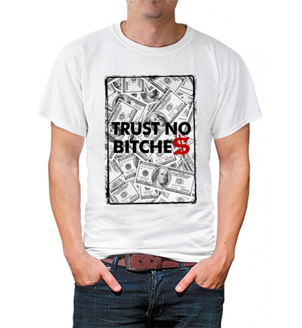 Футболка в стиле тумблер Trust no bitches