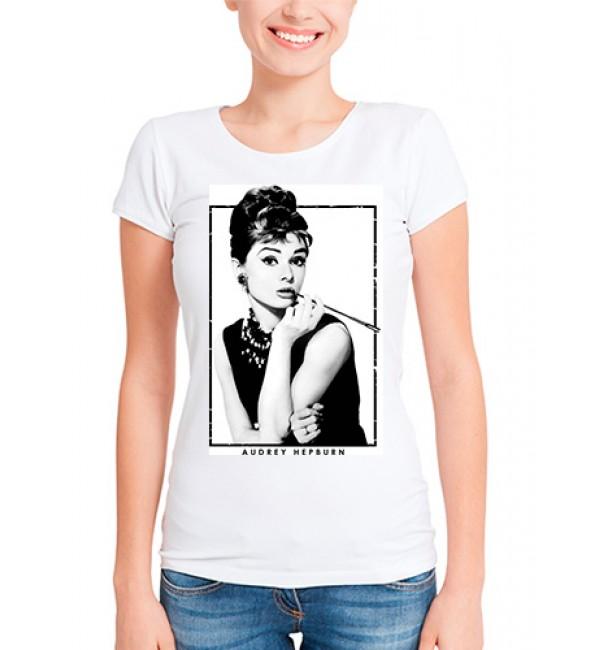 Футболка в стиле тумблер Audrey Hepburn