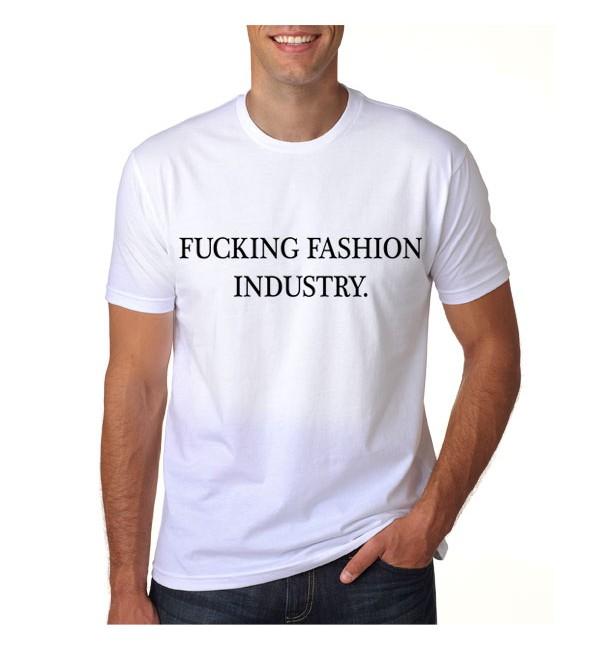 Футболка Fucking fashion industry
