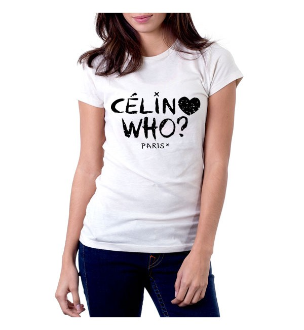 Футболка Celin who?