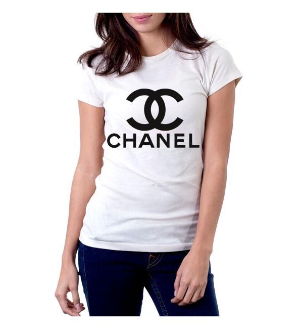 Футболка Chanel logo