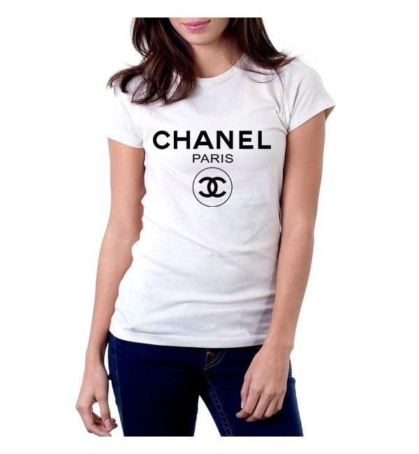 Футболка Chanel logo 2
