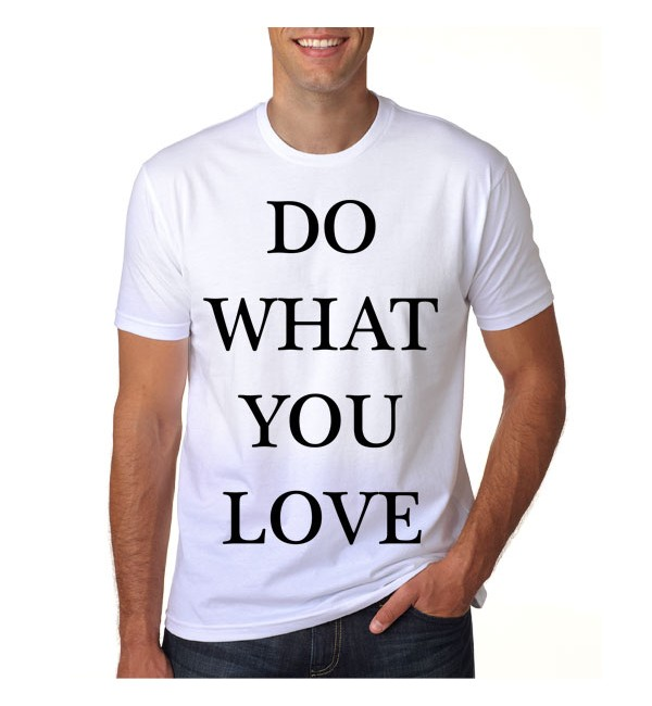 Футболка Do what you love