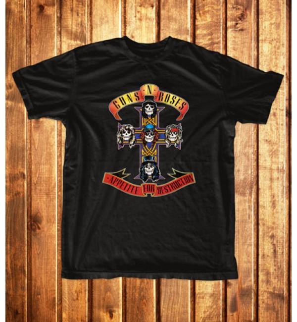 Футболка мужская  Guns N' Roses 1