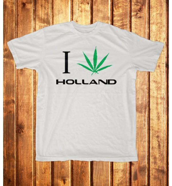 Футболка мужская I love Holland