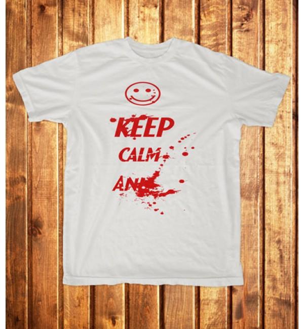 Футболка мужская Keep calm and