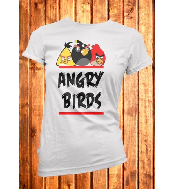 Футболка женская Angry Birds