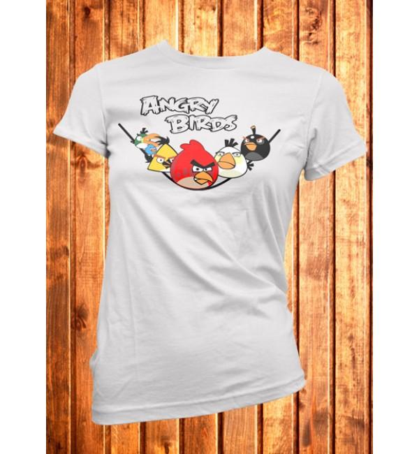Футболка женская  Angry Birds 1
