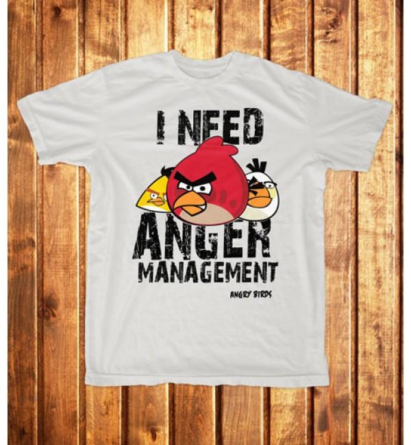 Футболка мужская  Angry Birds 2