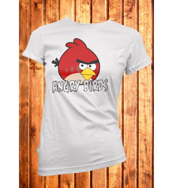 Футболка женская  Angry Birds 3