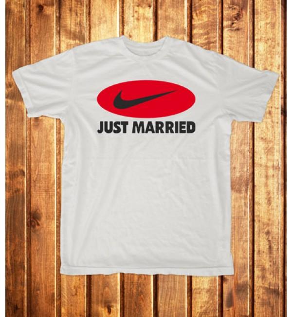 Футболка мужская Just married