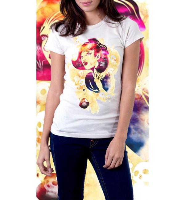 Женская футболка Дизайн 1